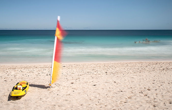 Located beside the Mullaloo Surf Life Saving Club
